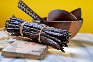 Vanille-Schoten mit Schokolade